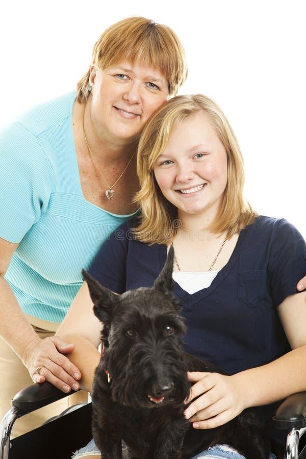 rodzinny zwierzę domowe zdjęcie royalty free