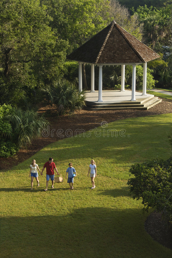 rodziny park, zdjęcie stock