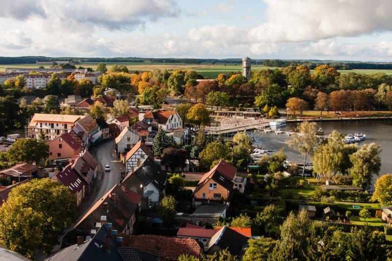Roebel, Mueritz, Германия стоковое фото