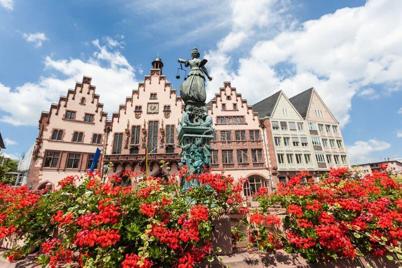 Roemberberg in Frankfurt Main, Germany royalty free stock photo