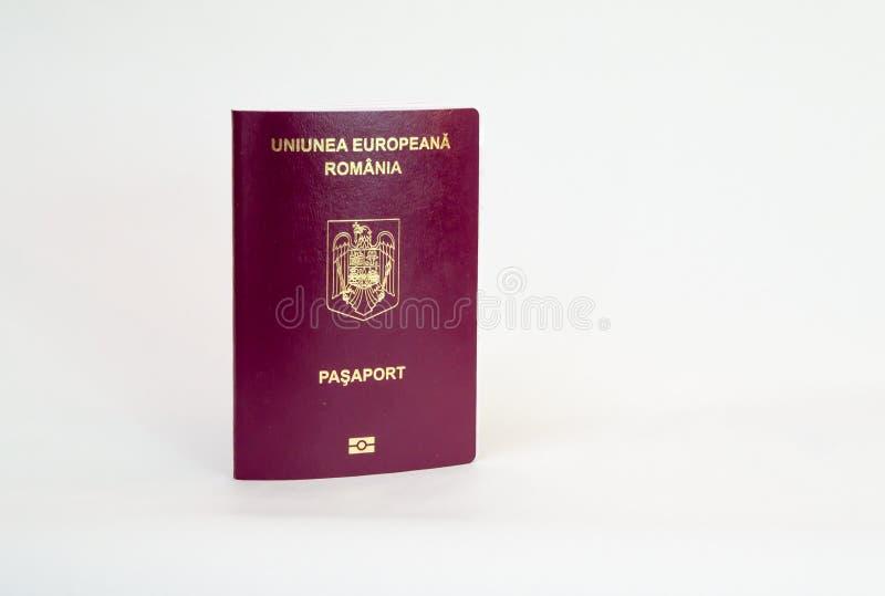 Roemeens biometrisch paspoort - royalty-vrije stock foto