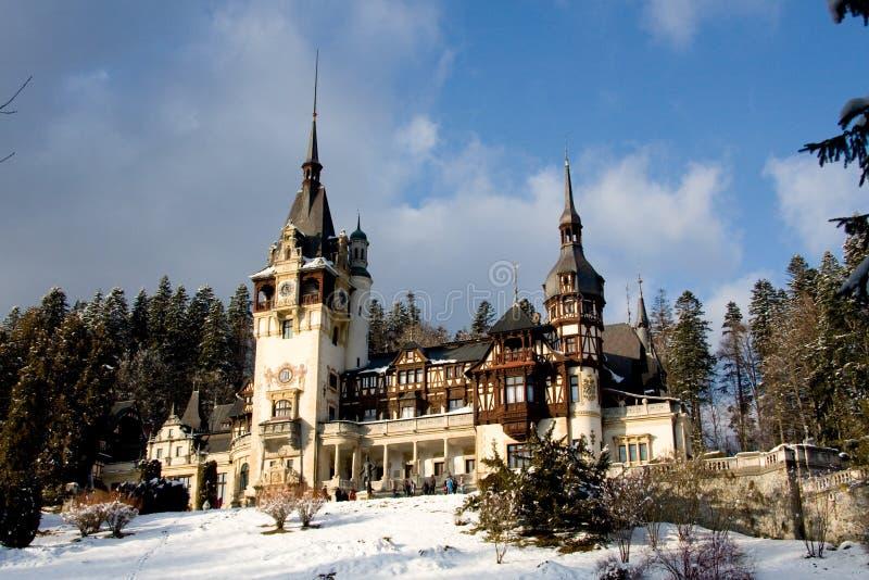 Roemeens Middeleeuws Kasteel royalty-vrije stock afbeelding
