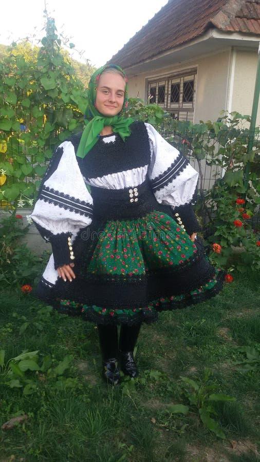 Roemeens mooi meisje royalty-vrije stock fotografie