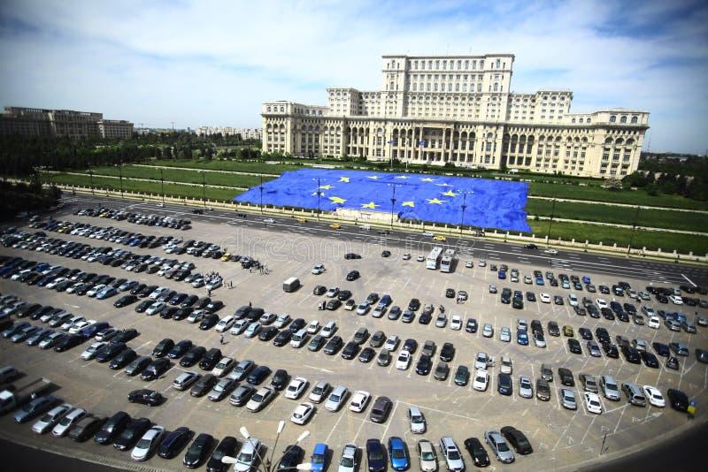 Roemeens Paleis van het Parlement royalty-vrije stock foto