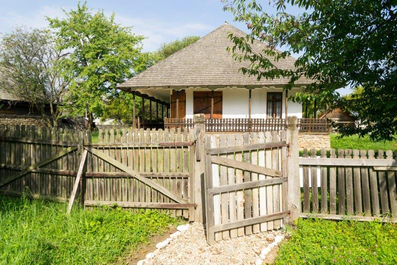 Roemeens traditioneel huis royalty-vrije stock fotografie