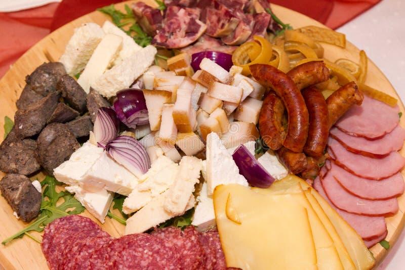 Roemeens traditioneel voedsel voor Kerstmis stock afbeeldingen