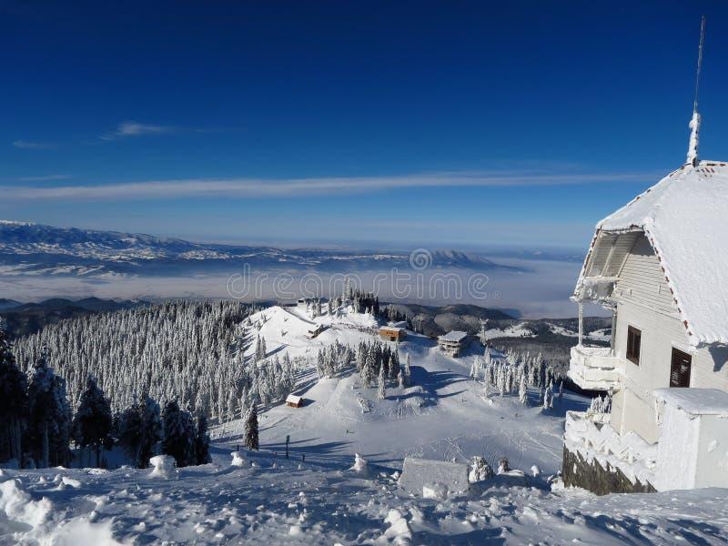 Roemeense bergen stock foto