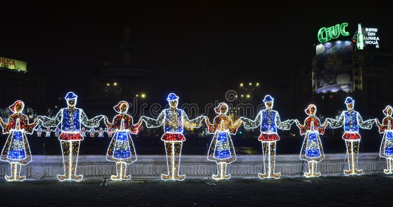 Roemeense dans, Union Square stock afbeeldingen