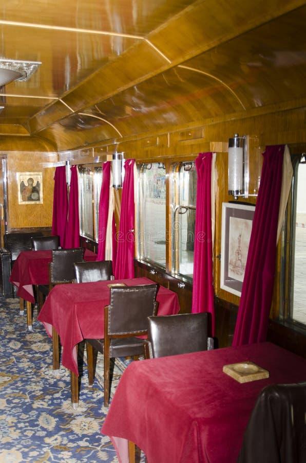 Roemeense Koninklijke trein royalty-vrije stock afbeeldingen