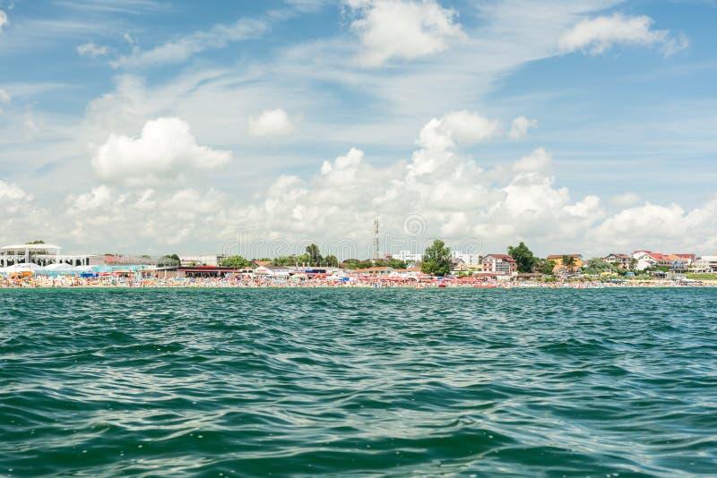 Roemeense Kustmening van de Open zee stock afbeeldingen