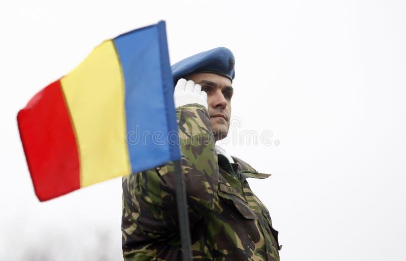 Roemeense militair royalty-vrije stock afbeeldingen