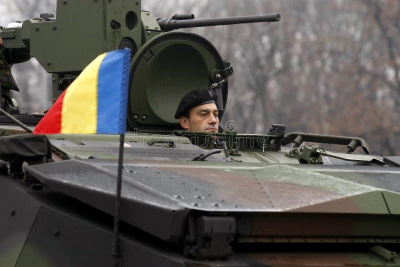 Roemeense militaire krachten stock afbeeldingen