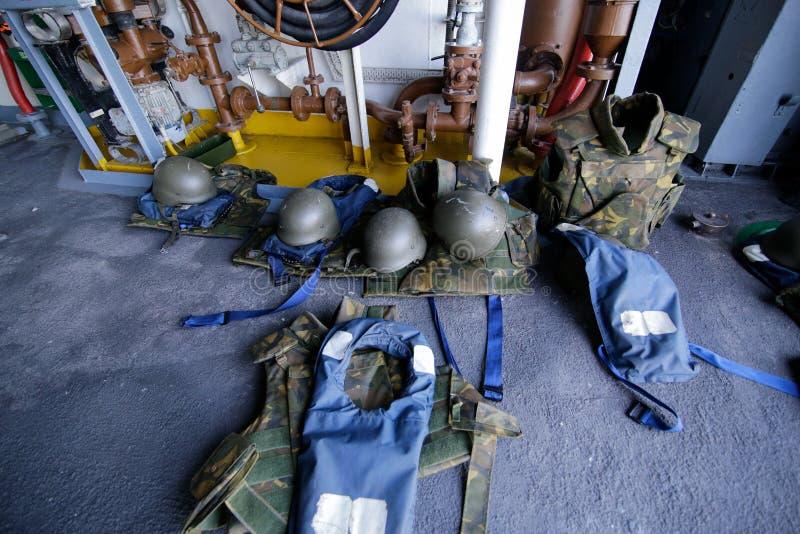 Roemeense militaire uitrusting royalty-vrije stock foto's