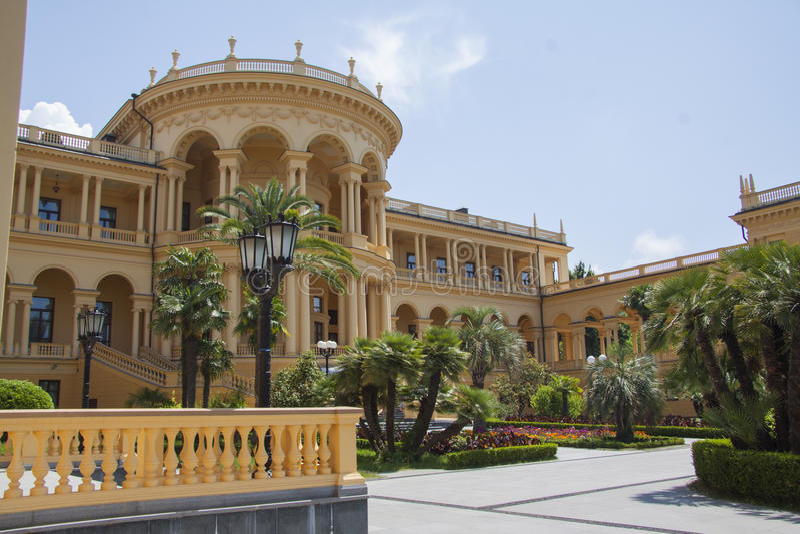 Roemeense Villa royalty-vrije stock fotografie