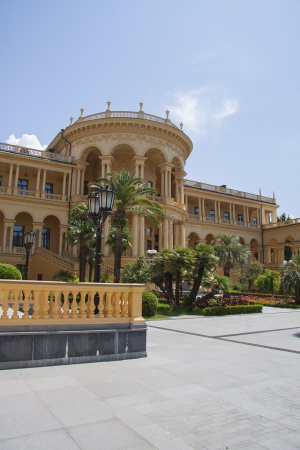 Roemeense Villa royalty-vrije stock foto