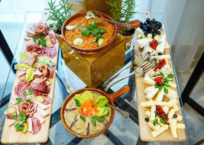 Roemeense voedsel hoogste mening stock fotografie