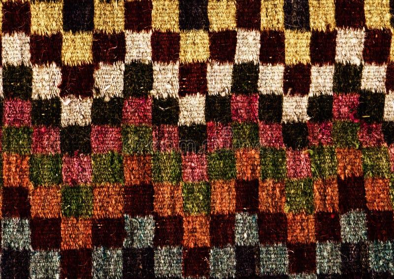 Roemeense volks naadloze patroonornamenten Roemeens traditioneel borduurwerk Etnisch textuurontwerp Traditioneel tapijtontwerp Ca royalty-vrije stock afbeeldingen