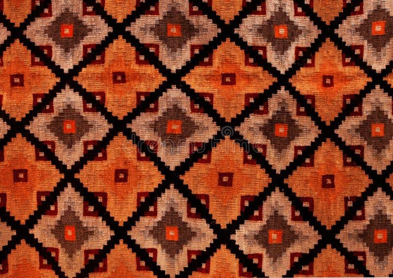 Roemeense volks naadloze patroonornamenten Roemeens traditioneel borduurwerk Etnisch textuurontwerp Traditioneel tapijtontwerp Ca royalty-vrije stock afbeelding