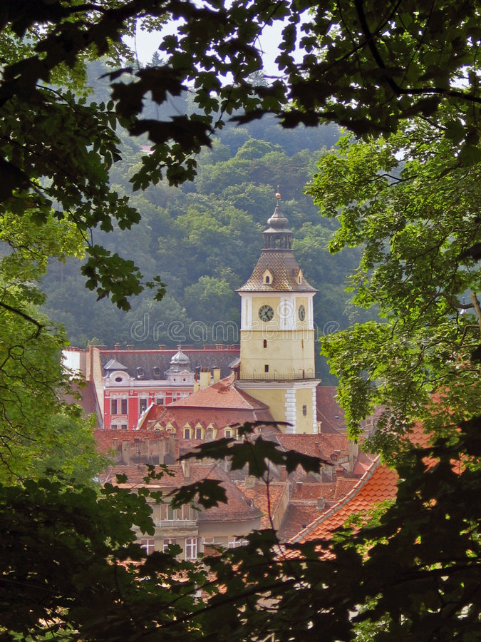 Roemenië, Brasov stock afbeeldingen