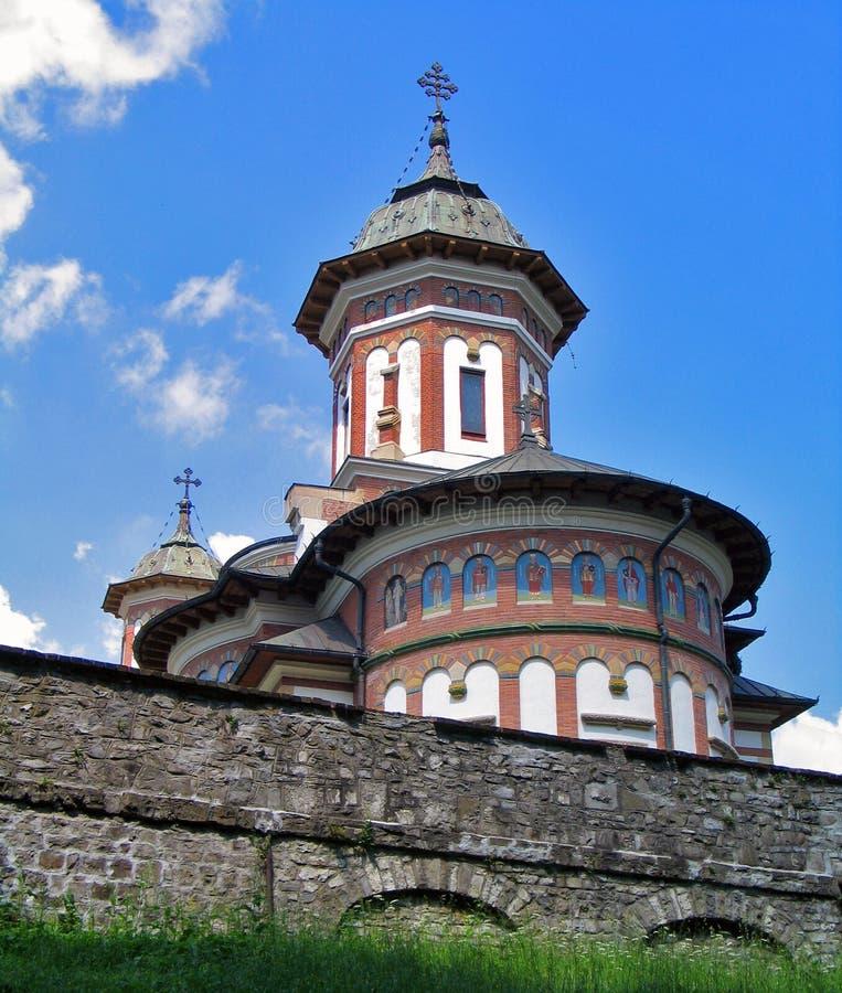 Roemenië. Het Klooster van Sinaia royalty-vrije stock foto