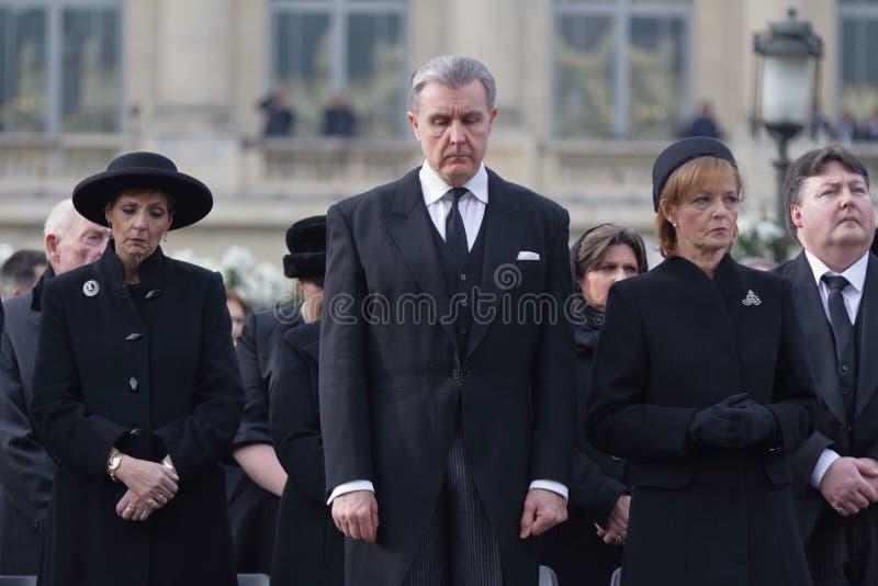 Roemenië - Koning Mchael I - Koninklijke Funerral royalty-vrije stock afbeeldingen