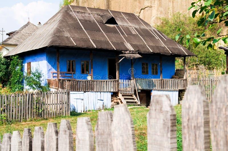 Roemenië - Traditioneel huis royalty-vrije stock foto's