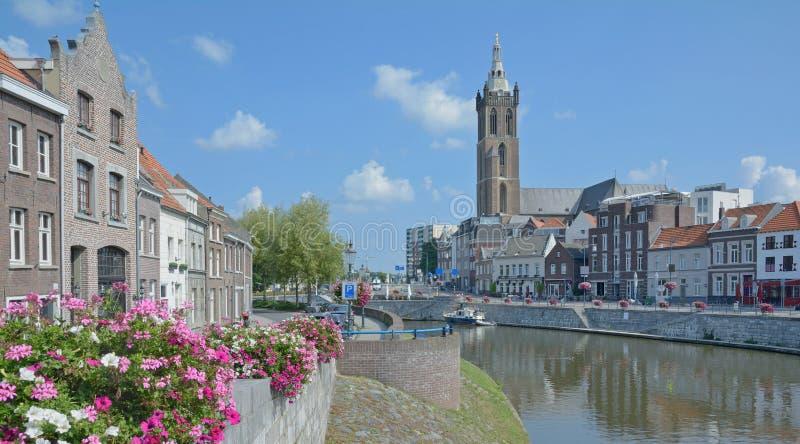 Roermond, Limburg, Nederland royalty-vrije stock afbeelding