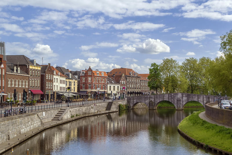 Roermond, Países Baixos imagem de stock royalty free