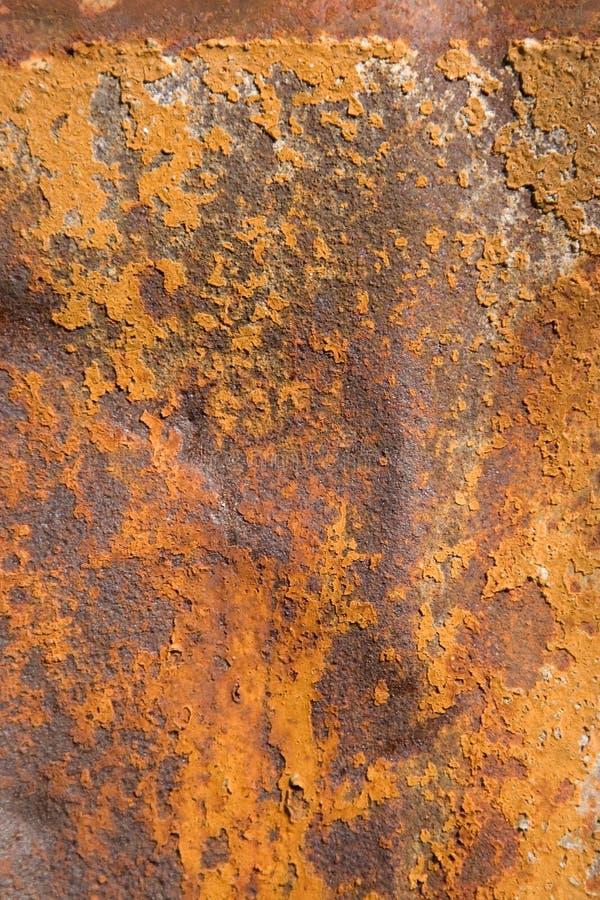 Roestig metaal, dat roesttexturen toont royalty-vrije stock afbeelding