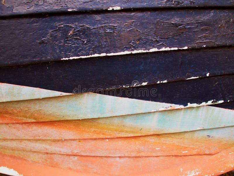 Roestige grunge verouderde de verfachtergrond van het staalijzer royalty-vrije stock fotografie