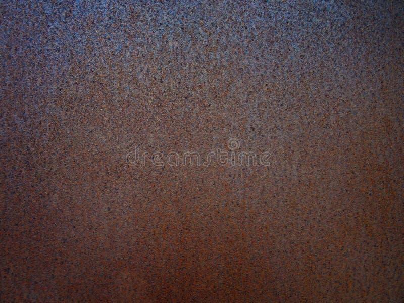 Roestige metaaltextuur of roestige metaalachtergrond Grunge retro vint royalty-vrije stock fotografie
