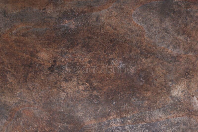 Roestige metaaltextuur Roestige metaalachtergrond Grunge retro wijnoogst van roestige metaalplaat voor ontwerp met exemplaarruimt stock foto's