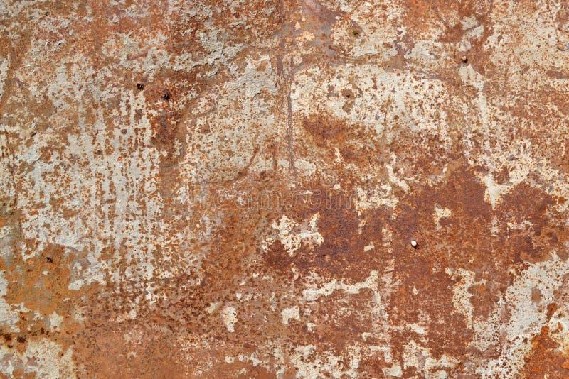 Roestige textuur, Achtergrond stock afbeeldingen