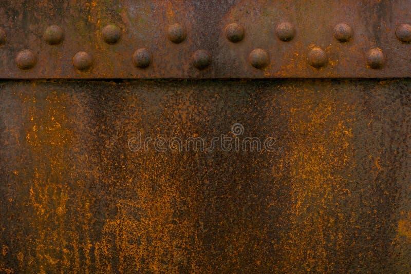 Roestige van het het ijzer oude metaal van de metaalroest de roesttextuur stock foto
