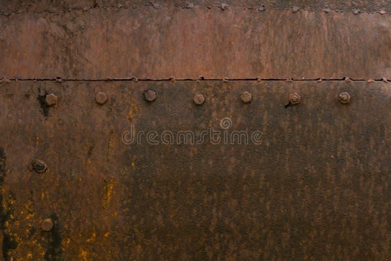 Roestige van het het ijzer oude metaal van de metaalroest de roesttextuur royalty-vrije stock foto's