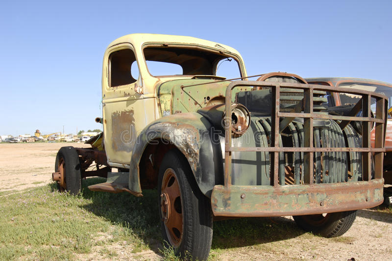 Roestige Vrachtwagen royalty-vrije stock fotografie
