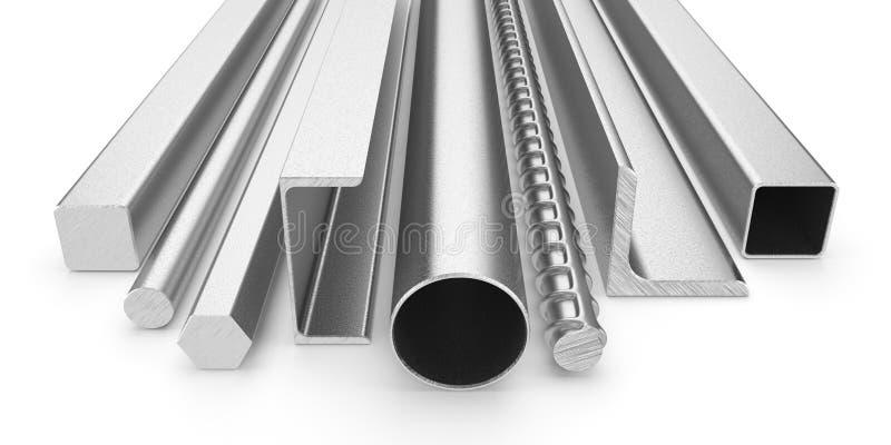Roestvrij staalproducten vector illustratie