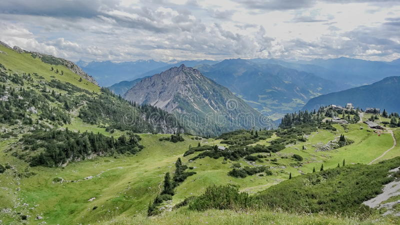 Rofan, Achensee, Tirol Áustria fotos de stock royalty free