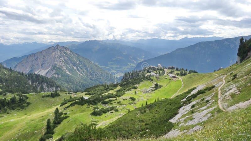 Rofan, Achensee, Tirol Áustria fotografia de stock royalty free