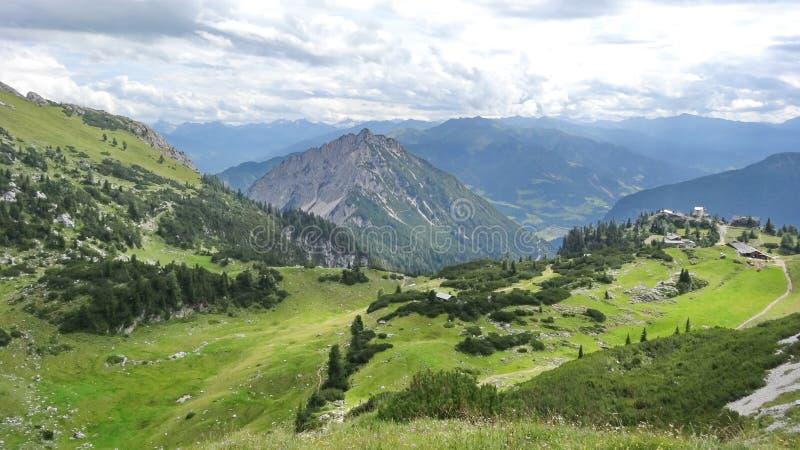 Rofan, Achensee, Tirol Áustria fotografia de stock