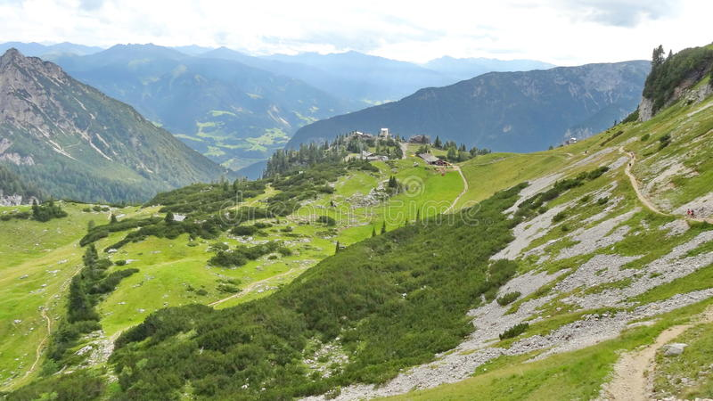 Rofan, Achensee, Tirol Αυστρία στοκ φωτογραφία με δικαίωμα ελεύθερης χρήσης