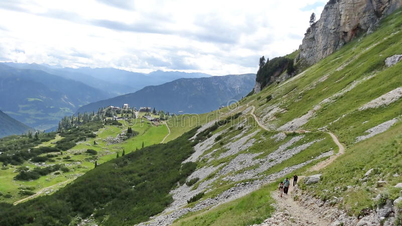 Rofan, Achensee, Tirol Австрия стоковая фотография