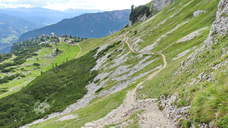 Rofan, Achensee, Tirol Oostenrijk stock afbeelding