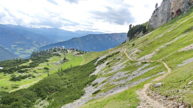 Rofan, Achensee, Tirol Oostenrijk royalty-vrije stock foto's