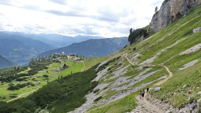 Rofan, Achensee, Tirol Oostenrijk stock fotografie