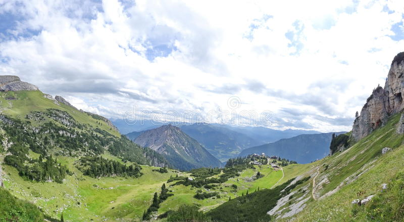 Rofan, Achensee, Tirol Oostenrijk stock foto