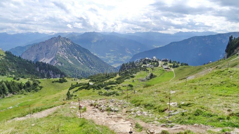 Rofan, Achensee, Tirol Oostenrijk stock foto's