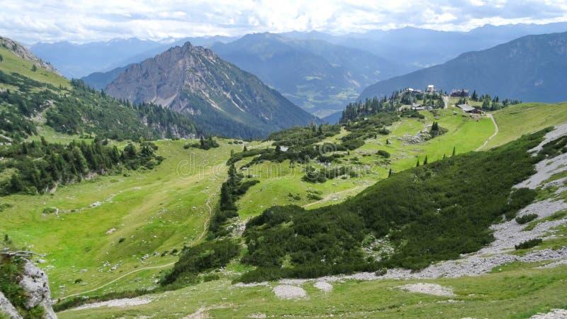 Rofan, Achensee, Tirol Oostenrijk royalty-vrije stock afbeelding