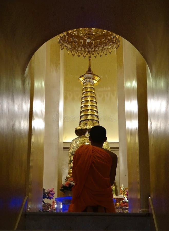 Rogación budista fotografía de archivo