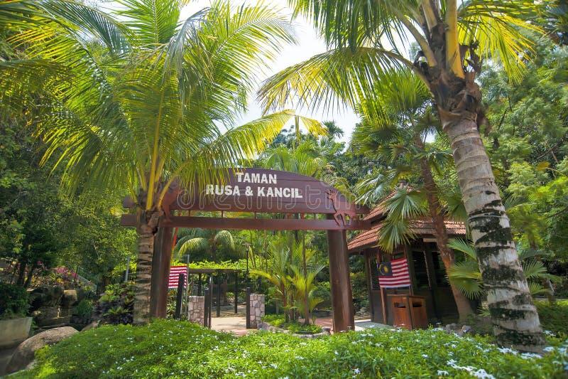 ROGACZA park - KUALA LUMPUR zdjęcie stock